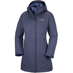 Columbia Salcantay Long Jacket Women blue